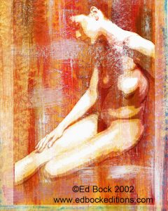 Nude, figure, Fusionnée, fusion, fusionnee, image, photo, art, painted, color, woman, girl, female, blended, merged, acrylic, watercolor, digital, artwork, colorful, figures, people, person, abstract, fine art, prints, editions, contemporary, naked, modern, expressionism, expressive, realism