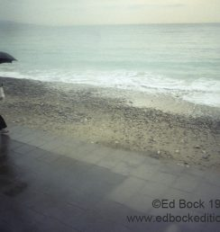 France, moody, umbrella, fine art, Mediterranean, weather, walking, figure